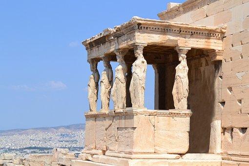 Travel, City, Athens, Acropolis, Old Town, Greece