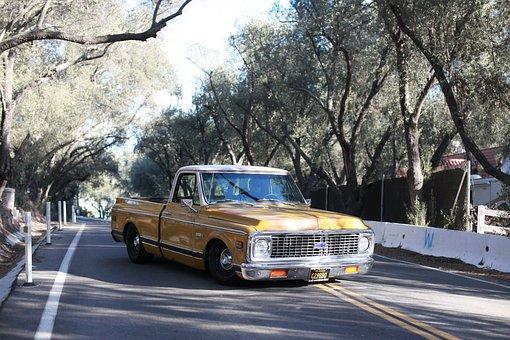 Chevrolet C10, Car, Classic Car, 1972