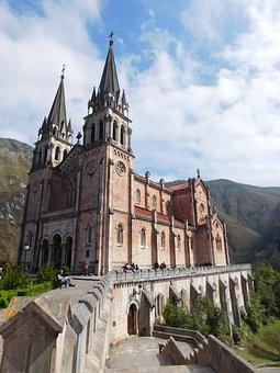 Covadonga, Church, Catholic, Architecture, Basilica