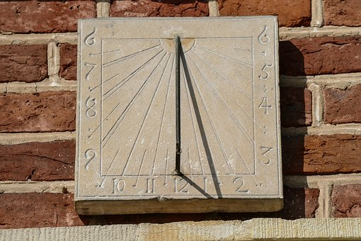 Sundial, Clock, Time Of, Time Indicating, Time, Sun