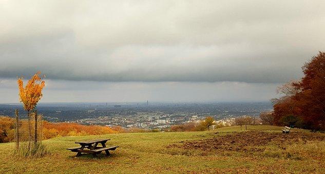 Autumn, Lainzer Tiergarten, Cloudiness