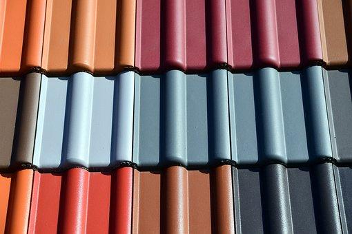 Shingle, Roof Shingles, Roofing, Tile, Brick, Colorful