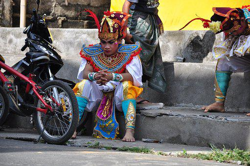 Bali, Dancers, Traditionally, Dance