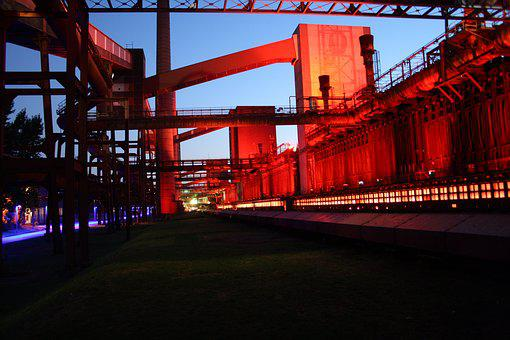 Kokerei Zollverein, Eat, Light, Industrial Monument