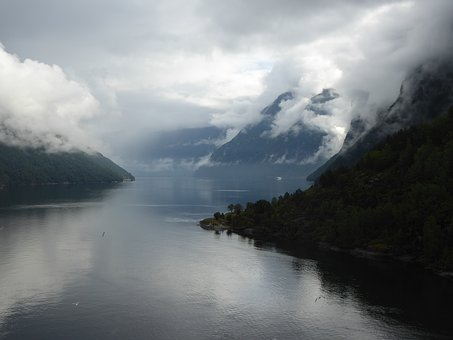 Fjord, Norway, Water, Nature, Scandinavia, Landscape