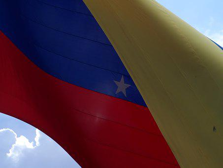 Flag, Venezuela, Clouds