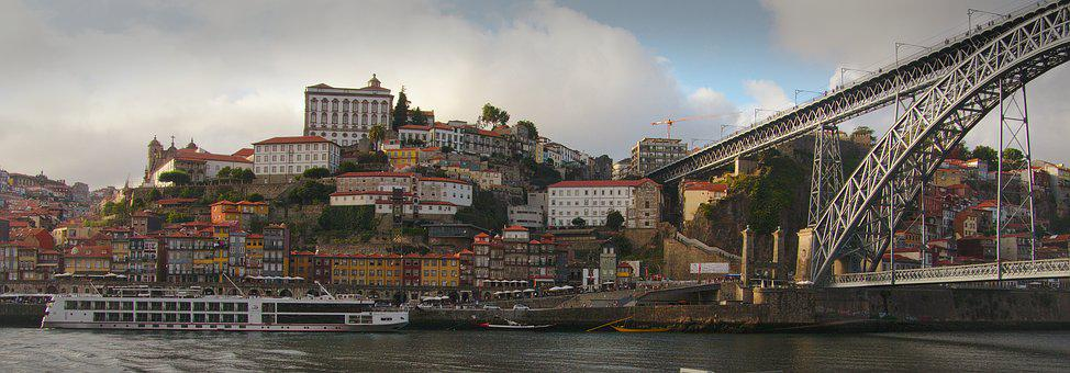 Porto, Portugal, Douro, Cityscape, Historic, Tourism