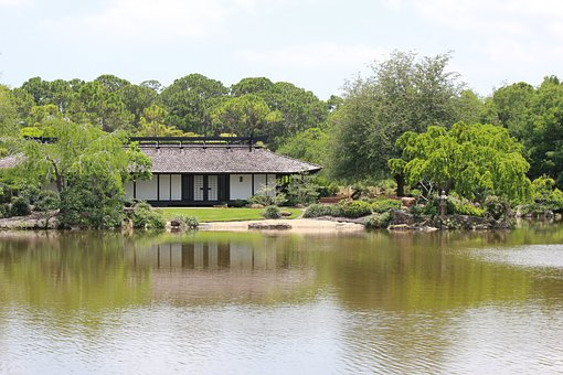 Japanese House, Japanese Dwelling, House, Japanese