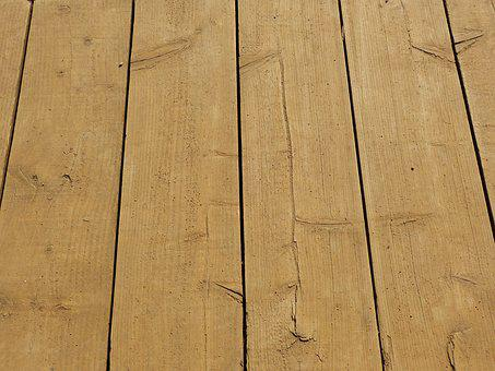 Boards, Decking, Deck, Plank, Wood, Weathered, Natural