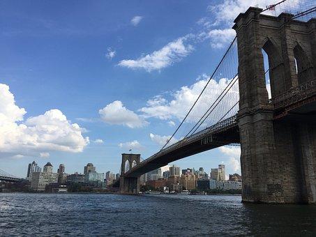 New York, Brooklyn Bridge, United States