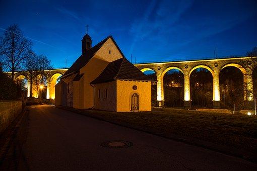 Altenbeken, Night, Railway