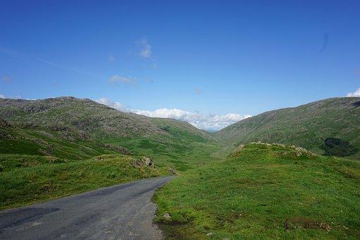 Hardnott Pass, Scotland, Mountain, Landscapes