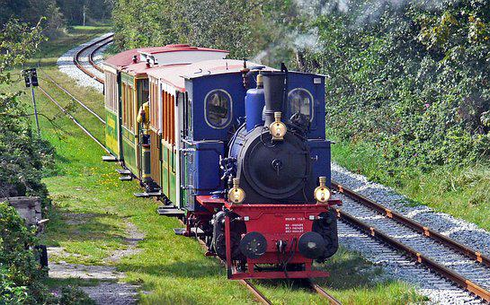 Borkumer Kleinbahn, Steam Train, Special Train