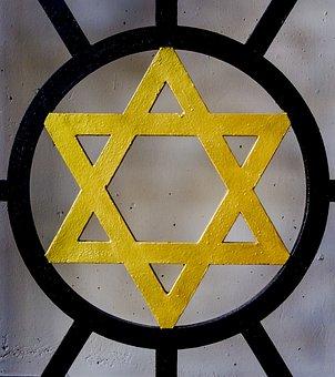 Jewish Star, Judaism, Star, Commemorate, Jews
