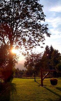 Sunset, Treschè Basin, Roan, Plateau, 7, Common