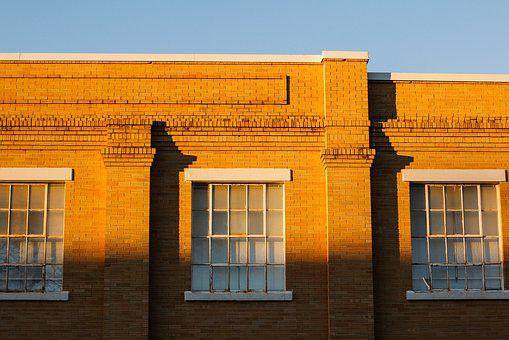 Building, Light, Golden Hour, Window, Architecture