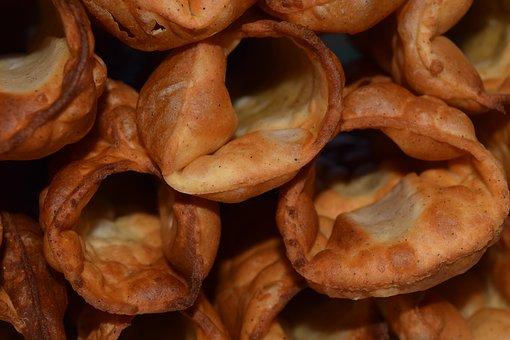 Pastries, Deep Fried, Bucce Di Canoli, Lard Fried, Hull