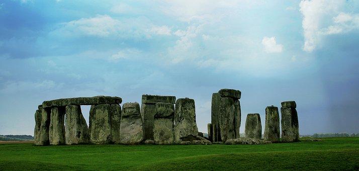 Stonehenge, Stones, England, Rock, Religious, Megalith