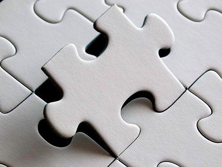 Puzzle, Last Particles, Piece, Demarcation, Exact Fit