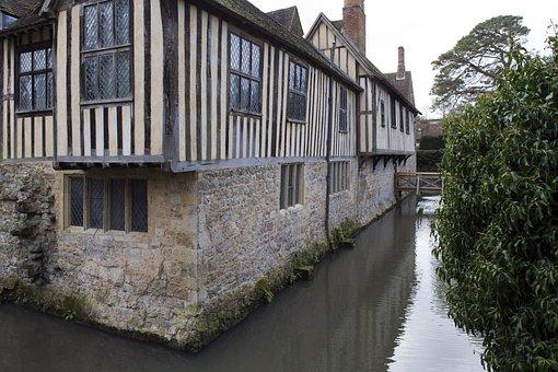 Ightham Mote, Medieval, Moated House, Stonework
