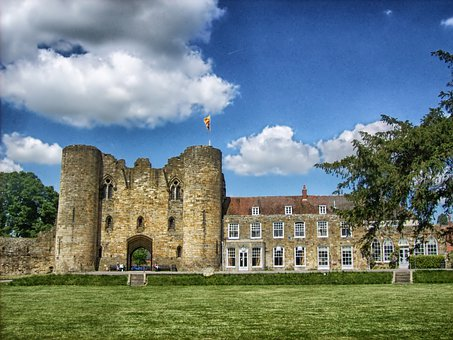 Tonbridge Castle, Kent, England, Historic, Landmark