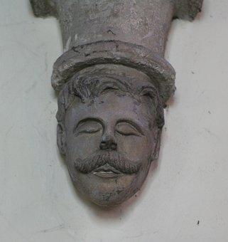 Grotesque, Carving, Masonry, Mason, Stone, Boss
