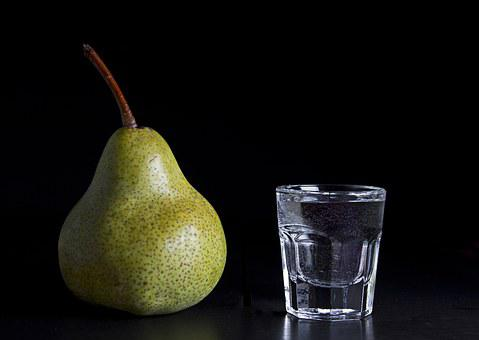 Pear, Brandy, Alk, Alcohol, Drink, Spirits, Addiction