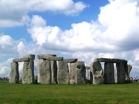 Stonehenge, Monument, Prehistoric, Rocks