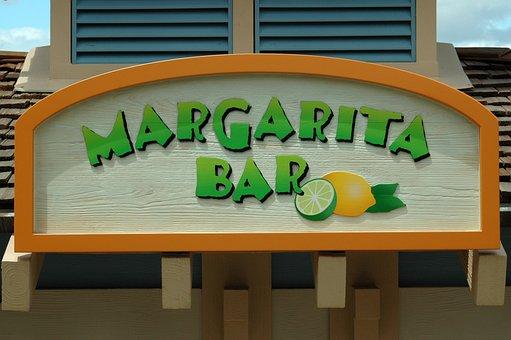 Bar Sign, Bar, Margarita, Sign, Drink, Pub, Symbol