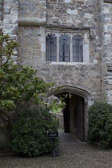 Fortified Gateway, Medieval, Stonework, Trefoil Windows
