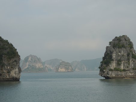 Vietnam, Halong Bay, Scenic, Cruise, Vacation, Asia