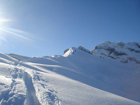 Snow, Tour, Bergtour, Landscape, Backcountry Skiiing