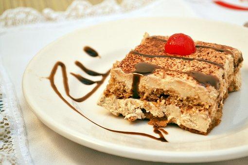 Dessert, Cake, Slice, Food, Sweet, Delicious, Bakery