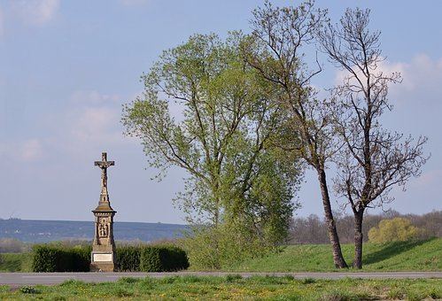 Religion, Cross, Christianity, Crucified, Monument