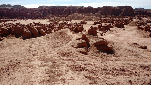 Desert, Arid, Mountain, Dry, Landscape, Drought, Nature