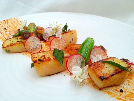 Indian, Food, Indian Cuisine, Scallop