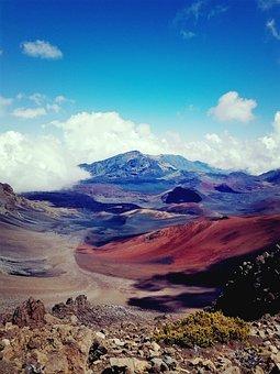 Volcano, Hawaii, Landscape, Crater, Island, Volcanic