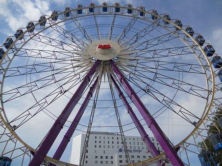 Ferris Wheel, Fair, Leisure, Measurable Space, Rides