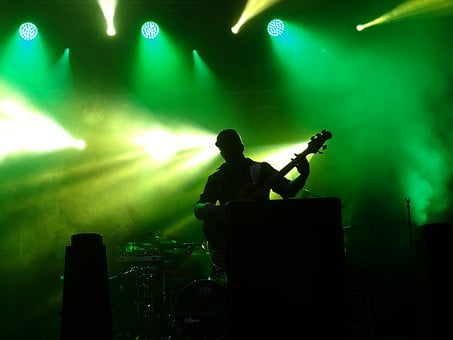 Concert, Light, Music