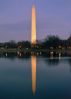 Washington, Dc, Monument, National, Usa, Landmark