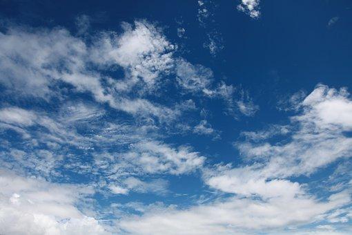 Blue Sky, White Cloud, Natural