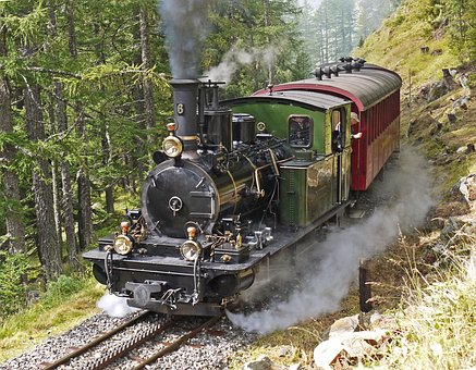 Steam Locomotive, Switzerland, Rack Railway
