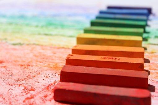 Crayon, Pastel, Colorful, Color, School, Chalk, Draw