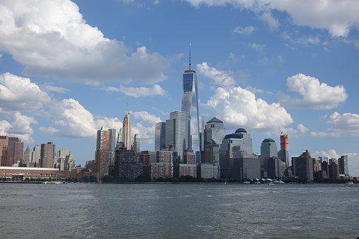 New York, Skyline, Nyc, One World Trade Center