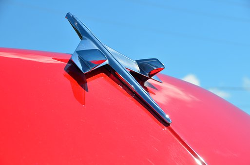 Hood Ornament, Vintage, Car, Automobile, Restored