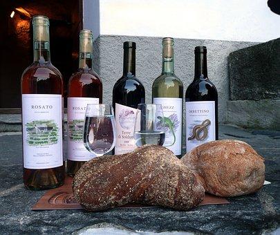 Wine, Wine Festival, Ticino, Wood Oven Bread, Red Wine