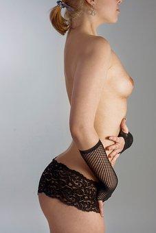 Woman, Underwear, Bosom, Erotic, Sexy, Female