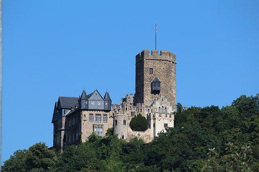 Castle, Lahneck, Lahnstein, History