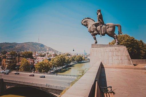 Tbilisi, Georgia, City, Old Tbilisi, Architecture