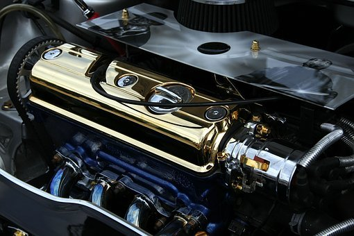 Tuning, Engine Block, Tuned, Motor, Cute, Gold